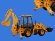 山猛A字型斜支腿WZ30-25型挖掘装载机高清图 - 外观