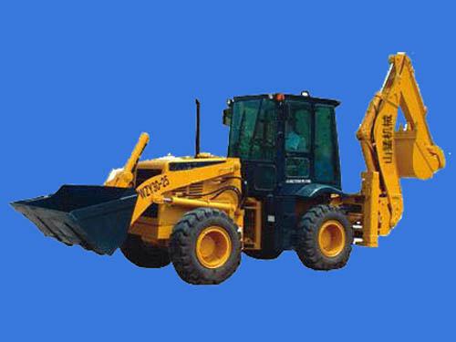 山猛WZY30-25型挖掘装载机高清图 - 外观