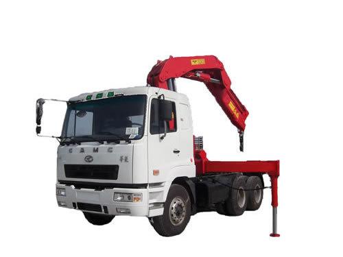 湖南飞涛SQZ4304 20吨折臂4节臂随车起重机