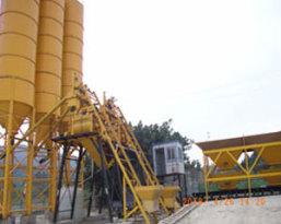 腾飞HZS25型工程混凝土搅拌站