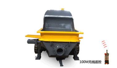泵虎HB80P206LD 履带式拖泵高清图 - 外观