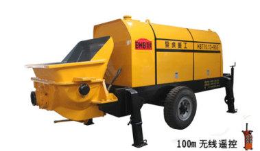 泵虎HBT70.13-90S拖泵高清图 - 外观