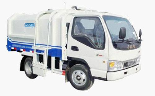 山东汇强垃圾收集车高清图 - 外观