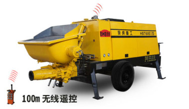 泵虎HBT60EⅢ型拖泵高清图 - 外观