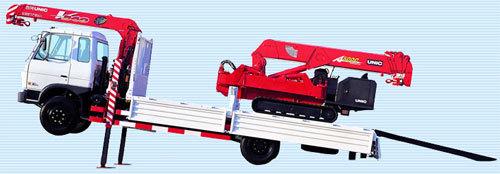 泰安古河URV343GHK型高支腿随车起重机