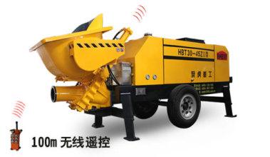 泵虎HBT30-45ZⅢ型拖泵高清图 - 外观