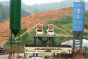 腾飞连体JS1000型工程混凝土搅拌站高清图 - 外观