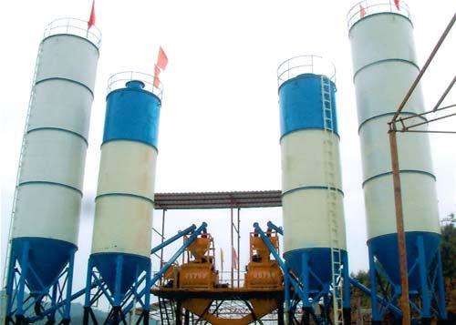 腾飞连体JS750型工程混凝土搅拌站