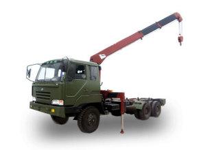 湖南飞涛SQ603 6吨直臂3节臂随车起重机高清图 - 外观