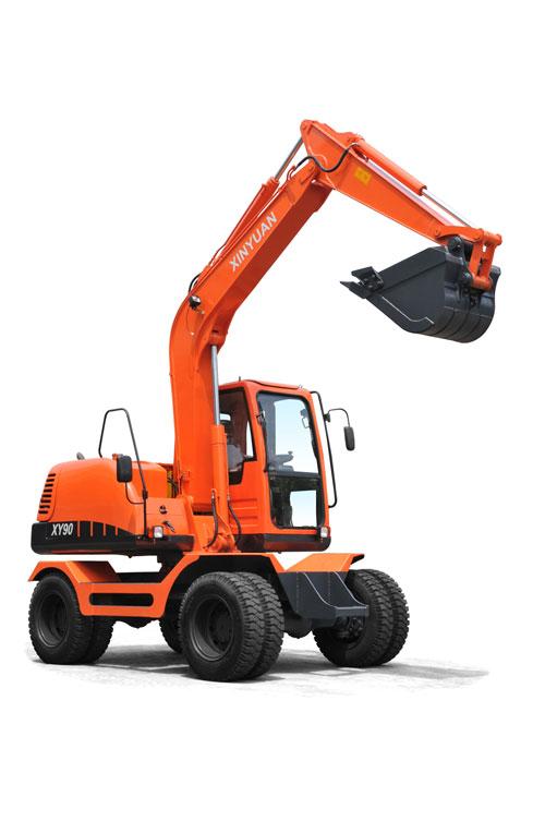 新源XY90挖掘机高清图 - 外观