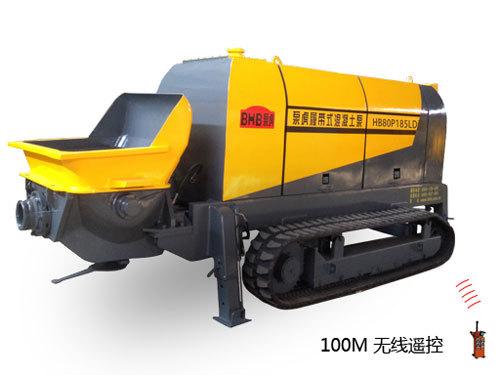 泵虎HB80P185LD 履带式拖泵