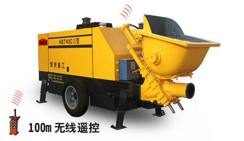 泵虎HBT40CⅢ型拖泵
