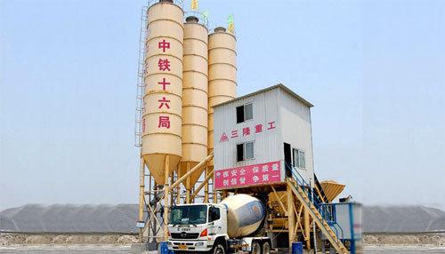 三隆重工HZS150模块式混凝土搅拌站