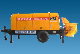 和盛达HBT8016-174RS型电动拖泵高清图 - 外观