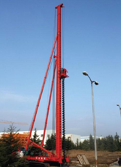 华夏JZL60 JZL50型长螺旋钻孔机高清图 - 外观