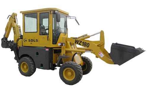 力士WZ180挖掘装载机高清图 - 外观