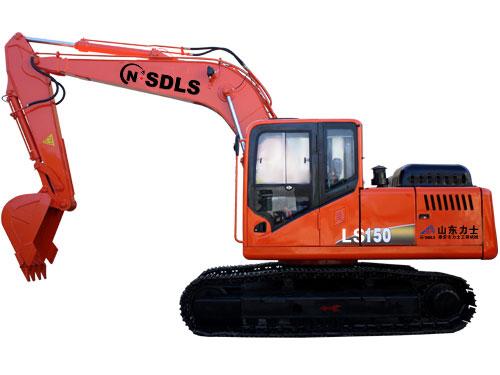 力士LS150挖掘机高清图 - 外观