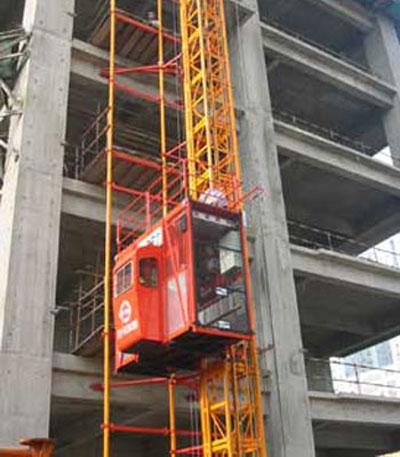 宝达SCD160(/160)系列施工升降机高清图 - 外观
