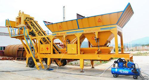 卓越鸿昌YHZS-30移动式混凝土搅拌站