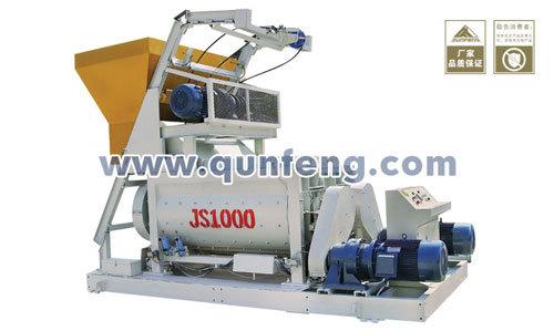 群峰机械JS系列双卧轴搅拌机
