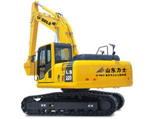 力士LS220-8挖掘机高清图 - 外观