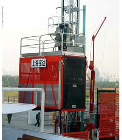 宝达SC160(/160)系列施工升降机高清图 - 外观
