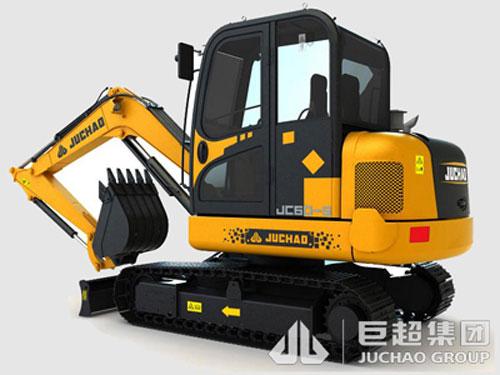 巨超JC60-9挖掘机高清图 - 外观
