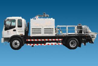 和盛达CHB100B110/CHB100A176型车载泵高清图 - 外观