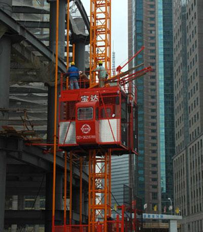 宝达SCD200(/200)系列施工升降机高清图 - 外观