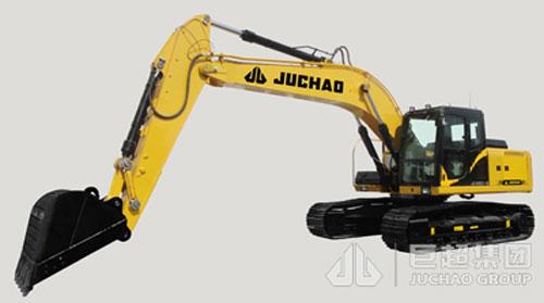 巨超JC220-9挖掘机高清图 - 外观