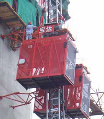 宝达SC200(/200)系列施工升降机高清图 - 外观