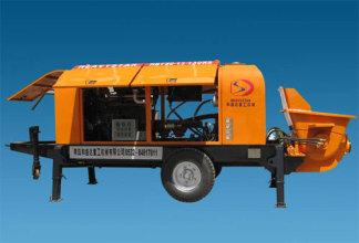 和盛达HBT6013-90S型柴油拖泵高清图 - 外观