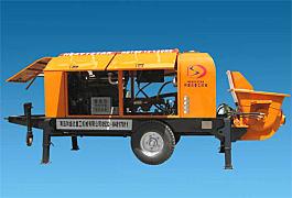 和盛达HBT6013-90S型柴油拖泵