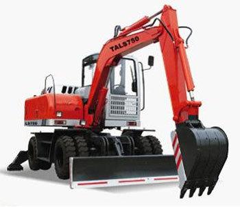 力士轮式挖掘机
