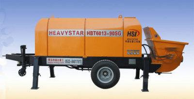和盛达HBT8013-90SG型电动拖泵高清图 - 外观