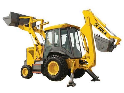力士WZ30-90挖掘装载机高清图 - 外观