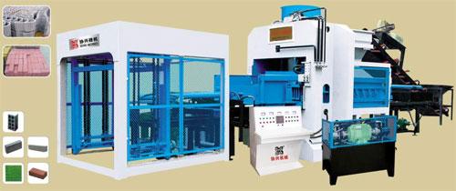 协兴XQY8000混凝土液压机高清图 - 外观