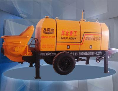 尤尼克DHBT系列柴油机混凝土输送拖泵