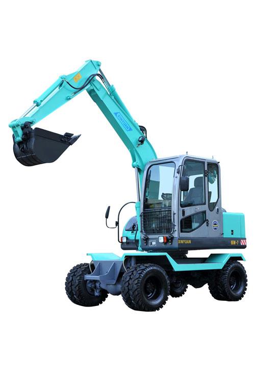 新源65W-7A挖掘机高清图 - 外观