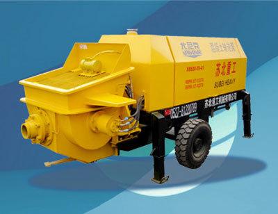 尤尼克XBS系列细石混凝土输送拖泵