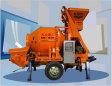 尤尼克XBS系列细石搅拌拖泵高清图 - 外观