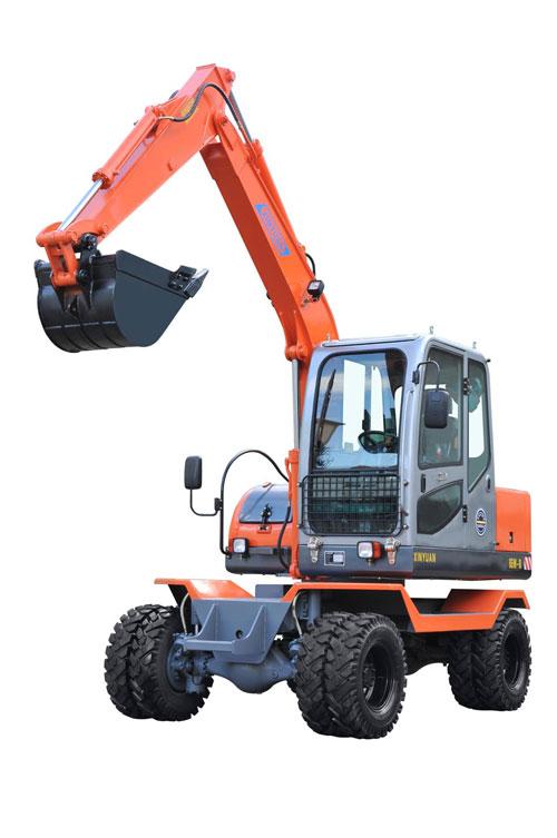 新源65W-8D挖掘机高清图 - 外观