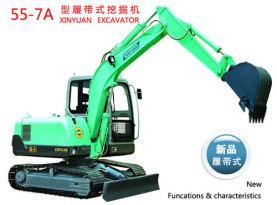 新源55-7A挖掘机