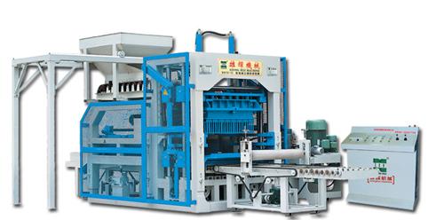 雄辉XH10-15 全自动砌块成型机砖机高清图 - 外观