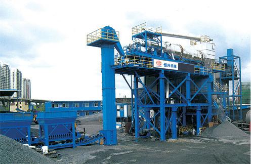 恒兴机械RLZB系列固定式沥青混合料再生搅拌站