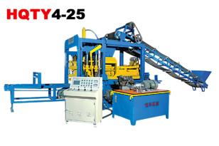 恒兴机械HQTY4-25砌块成型机砖机