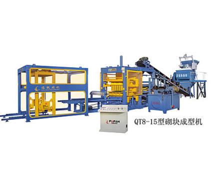 福帆瑞彩祥云appQT8-15型¤砌块成型机砖机