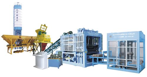 中材建科QTY9-18型液压全自动砖机高清图 - 外观