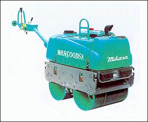 三笠MRH-500DSA电起动小型震动压路机高清图 - 外观