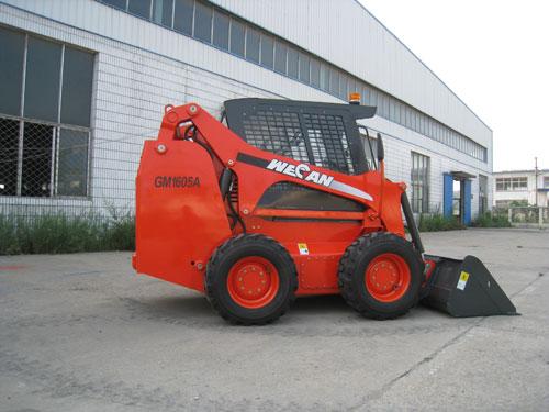 威肯GM1605A滑移装载机高清图 - 外观
